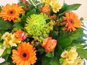 kwiaty w bukiecie
